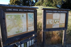 Hike No 15 - Long Ridge and Skyline Ridge OSP - Chestnut / Skyline Blvd./Peters Creek/Long Ridge/Private Road/Long Ridge/Peters Creek