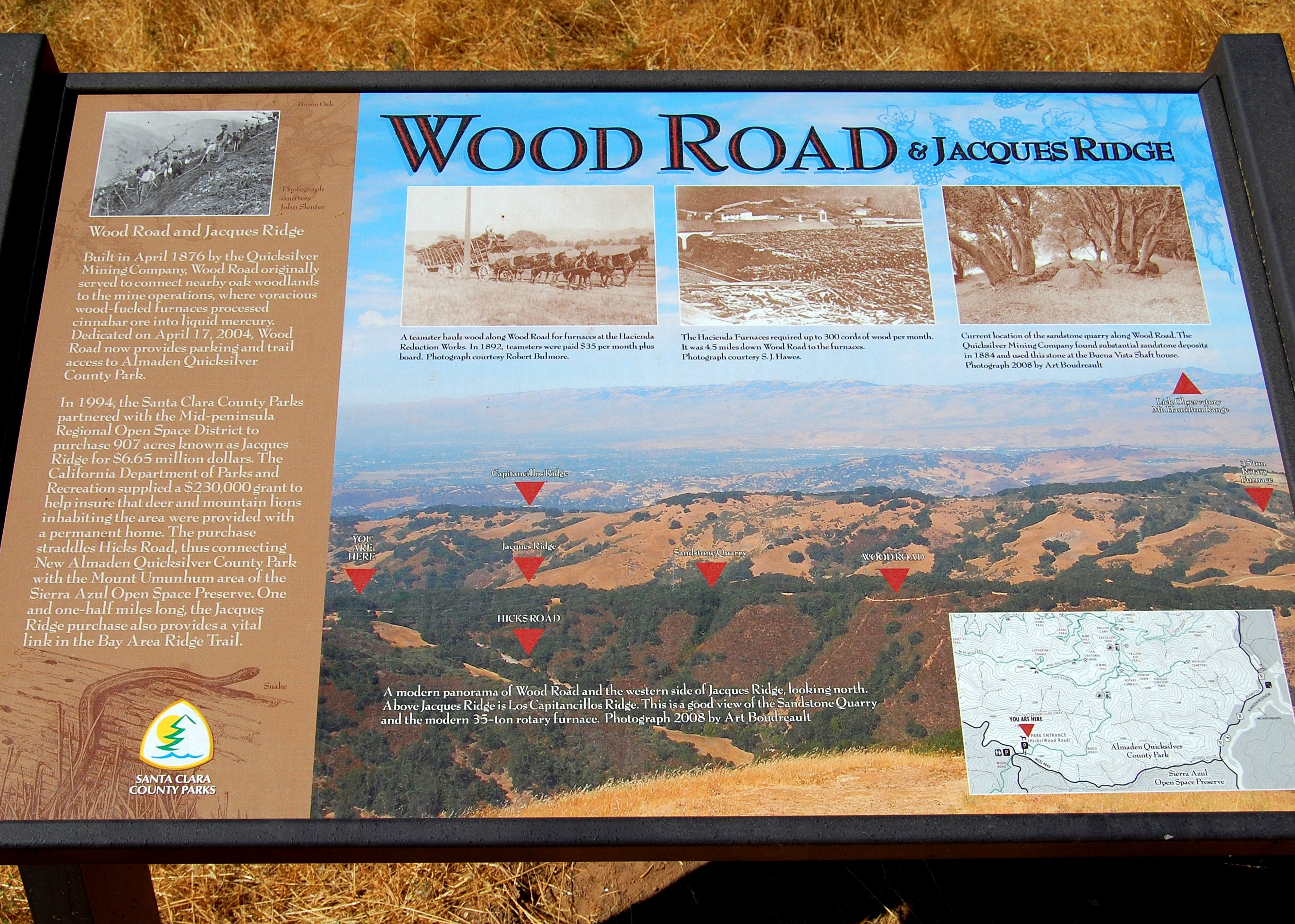Hike No. 21 – Almaden Quicksilver County Park – I\'m Over the Hill