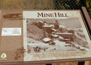 Mine Hill Historical Sign Hike No 21