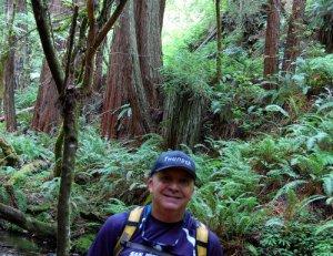 Oops!  Along Purisima Creek Hike No 22