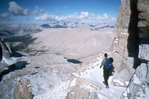 Mount Whitney Hike and Climb Winter