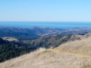View of the Pacific Ocean from the Ridge Trail Hike No 31