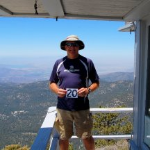 Tired but Happy! Tahquitz Peak FS Fire Lookout - Hike No 20