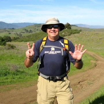 Making the climb to Coyote Peak...Hike No 7